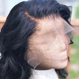 """100% human hair Lace front wig 14"""""""